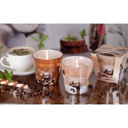 ŚWIECA ZAPACHOWA W SZKLE COFFEE & SPICES 115