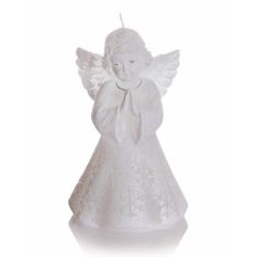ŚWIECA CHRISTMAS ANGEL 150 BIAŁY