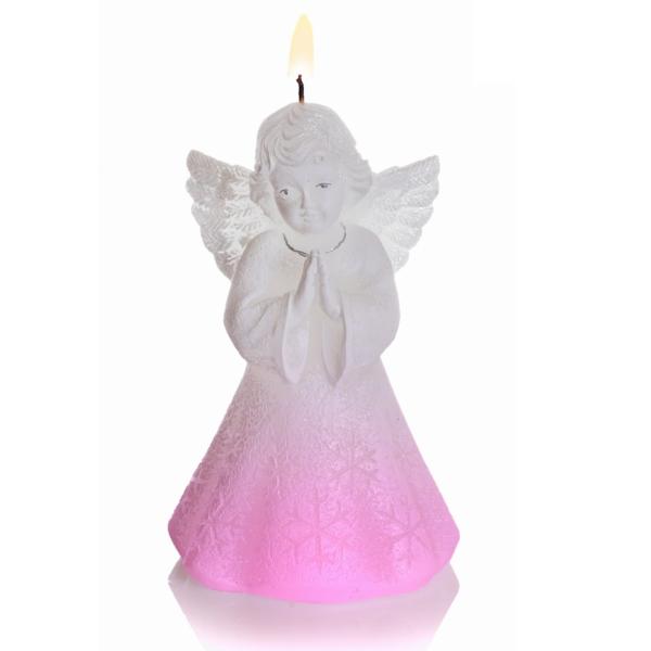 ŚWIECA CHRISTMAS ANGEL Z DIODĄ  150 BIAŁY