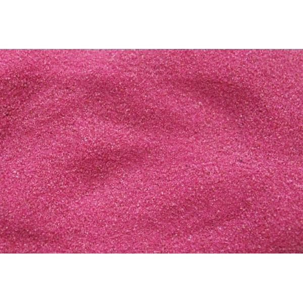 PIASEK FUKSJA 0,1-0,4 mm  0,5 kg