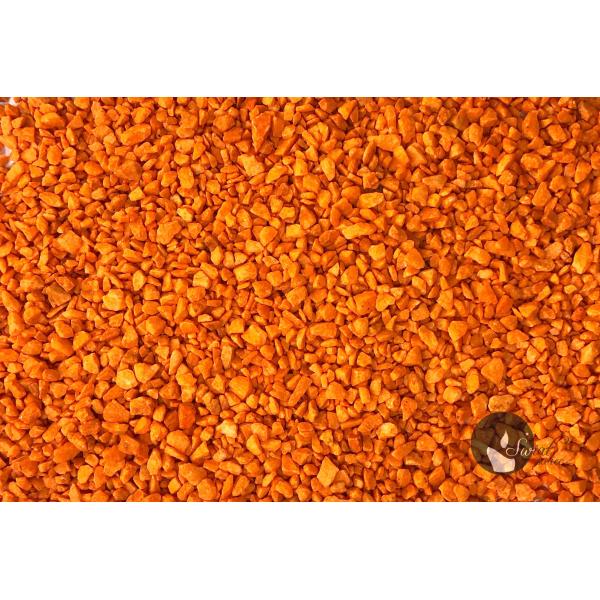 MARMUR POMARAŃCZOWY 1-4 mm  0,5 kg