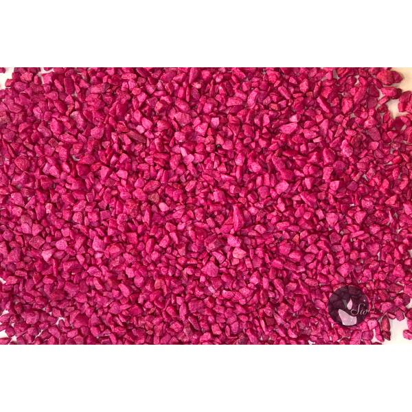 MARMUR FUKSJA 1-4 mm  0,5 kg