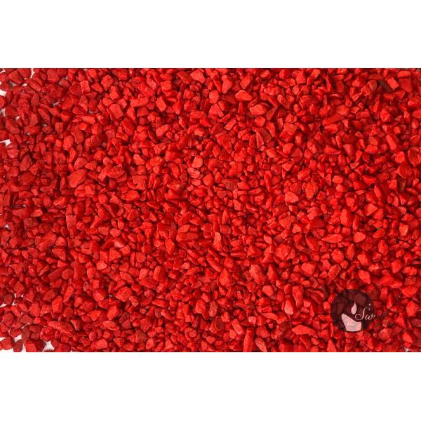 MARMUR CZERWONY 1-4 mm  0,5 kg