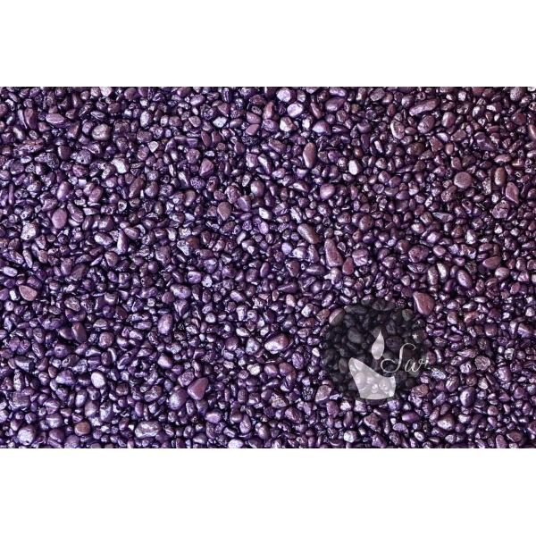 KWARC PERŁOWY FIOLET 1-4 mm 0,5 kg