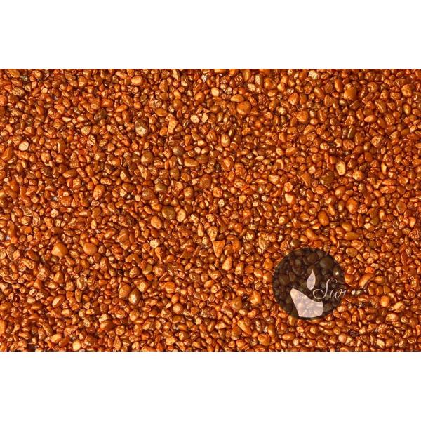 KWARC PERŁOWY POMARAŃCZOWY 1-4 mm 0,5 kg