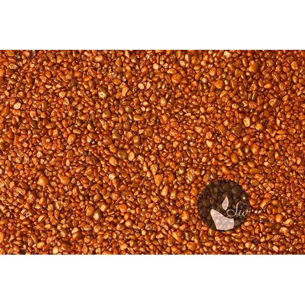 KWARC PERŁOWY PORAŃCZOWY 1-4 mm 0,5 kg