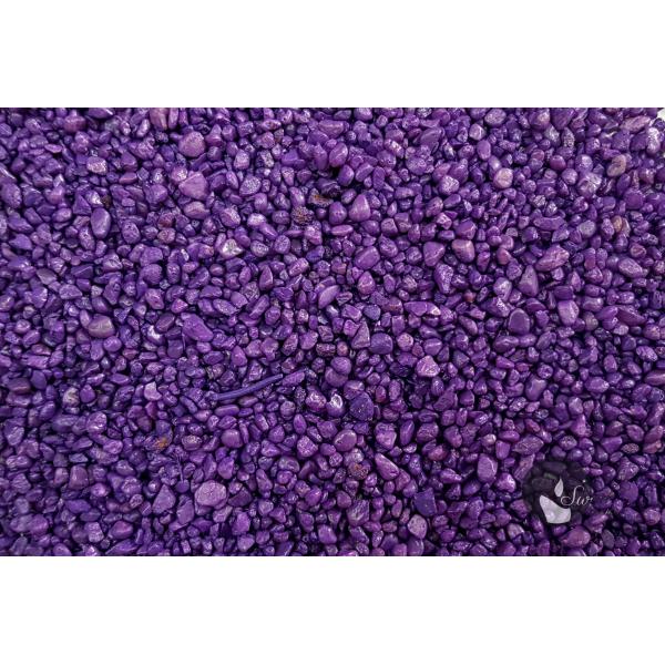 KWARC BARWIONY FIOLETOWY 2-4 mm  0,5 kg