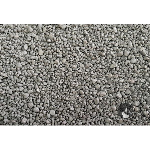 KWARC BARWIONY JASNY POPIEL 2-4 mm  0,5 kg