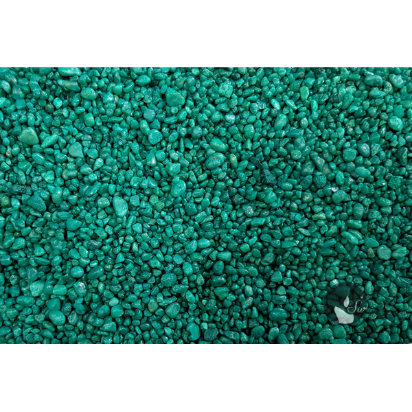 KWARC BARWIONY TURKUS 2-4 mm  0,5 kg