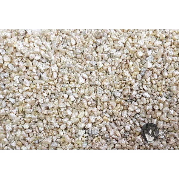 KWARC PERŁOWY BIAŁY 1-4 mm 0,5 kg