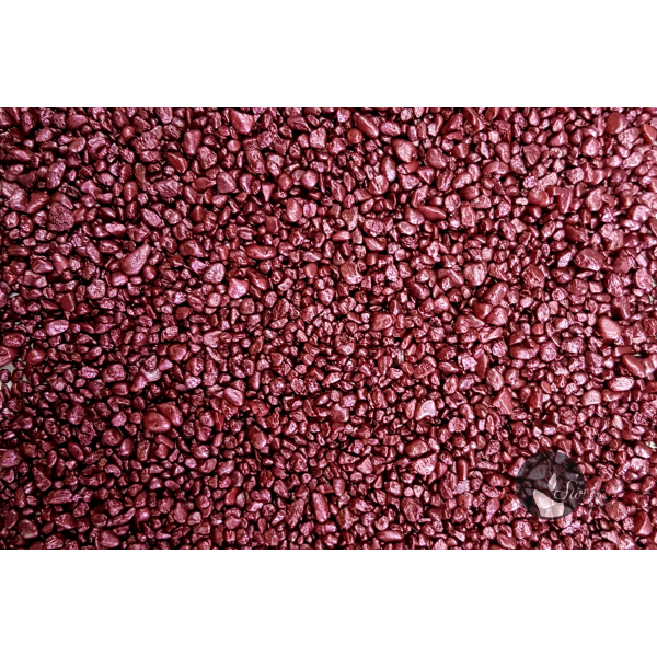 KWARC PERŁOWY BORDO 1-4 mm 0,5 kg