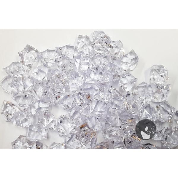 KAMYKI AKRYLOWE PRZEZROCZYSTE 1,5-2,5 cm