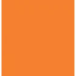 SERWETKI JEDNOBARWNE 33x33 cm POMARAŃCZ