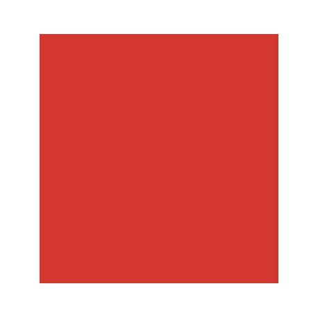 SERWETKI JEDNOBARWNE 33x33 cm CZERWONY