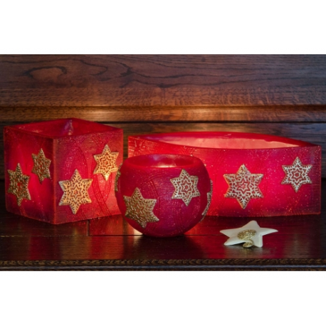LAMPION CHRISTMAS STARS KULA 120 mm