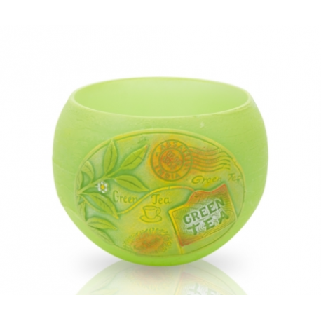 LAMPION TEA TIME KULA 120 mm GREEN TEA